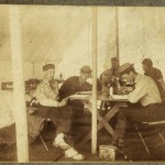 The Champlain Society at its Camp Pemetic, Mount Desert Island, 1881.