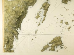 Old map penobscot bay