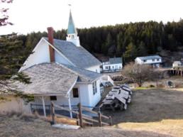 church in Frenchboro, Maine
