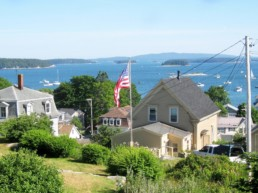 overlooking Stonington Harbor