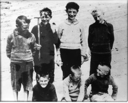 old photo of island boys