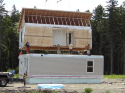 installation of a modular home