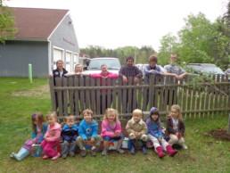 kids at an island school