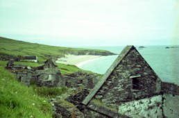 remains of WWII structure on Ireland Island