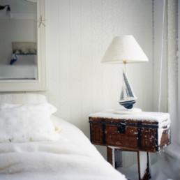 snow blown into bedroom