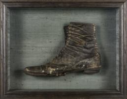 old shoe in frame