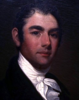 1806 oil painting of Governor William King