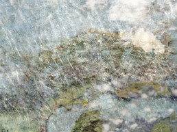 splattered paint mixed media image