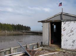 shack in harbor