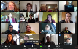 screenshot from a Zoom meeting