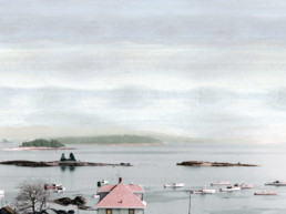 painting of figgy harbor